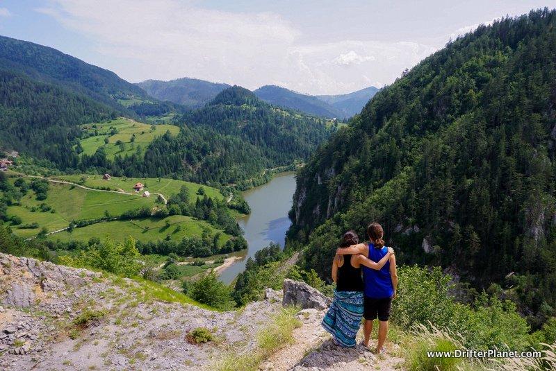 Us in Tara National Park near Mokra Gora, Serbia