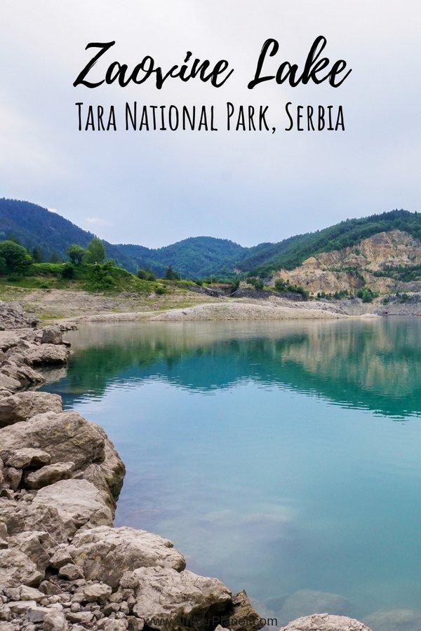 Zaovine Lake, Tara National Park, Serbia