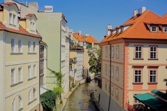 Čertovka - the Devil's Canal in Prague