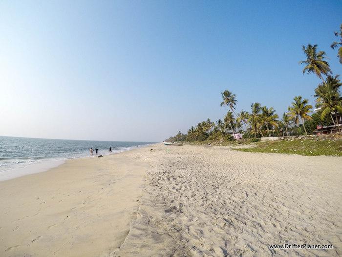 The Empty Alleppey Beach, Kerala