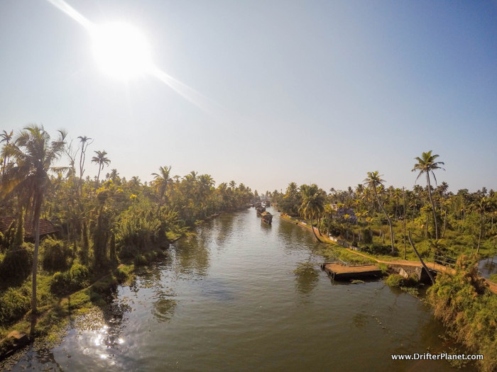 Another view of the village in Kuttanand area - Alleppey backwaters