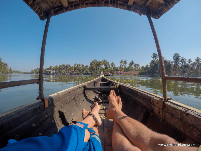 Canoeing in Alleppey Backwaters Kerala