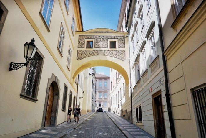 Mala Strana - the Lesser Town in Prague