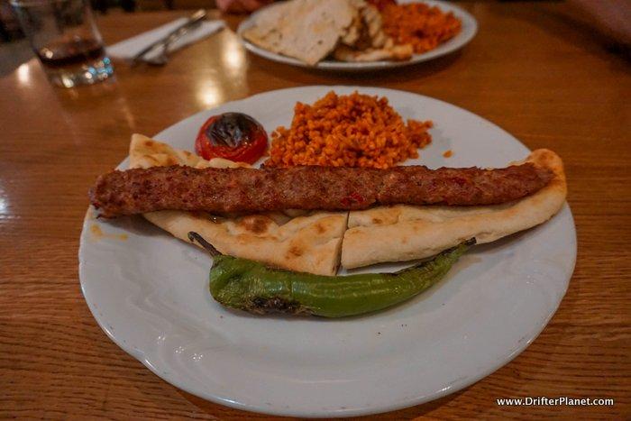 My dinner in Mangal - Turkish restaurant in Prague