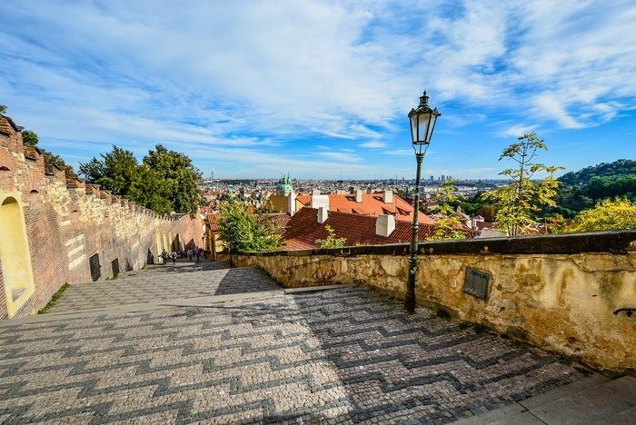 Prague Castle Steps - Prague in 2 days