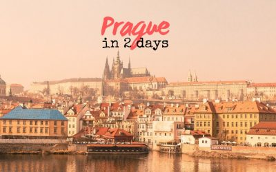 How to Spend 2 Days in Prague – Itinerary + Walking Map [Czech Republic]