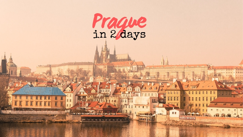 How to Spend 2 Days in Prague - Itinerary + Walking Map ...