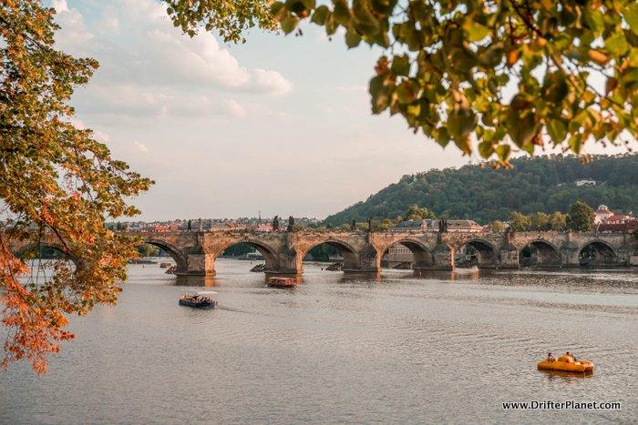 View of the Charles Bridge, Prague