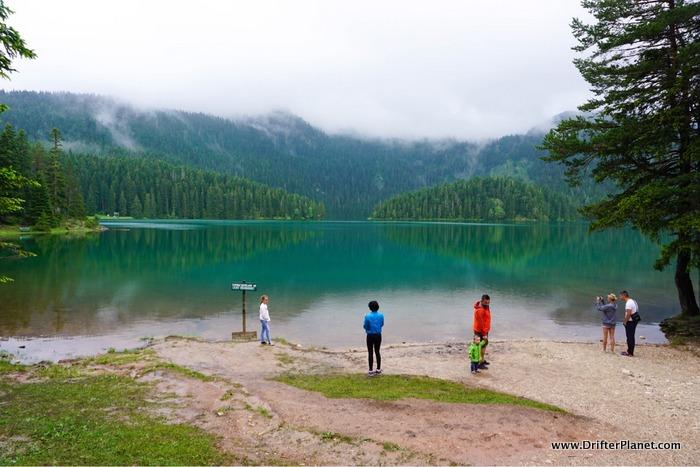 Crno jezero or Black Lake entry area, Durmitor National Park, Montenegro