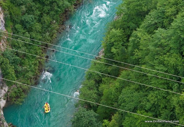 Rafting on Tara River, Durmitor National Park, Montenegro