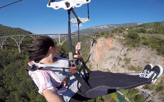 Tara Canyon Zip Line - Durmitor National Park, Montenegro