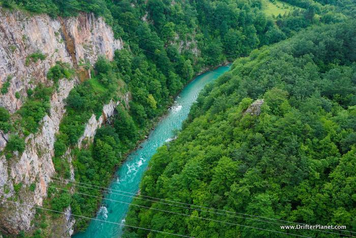 Tara River Canyon in Durmitor National Park near Žabljak, Montenegro