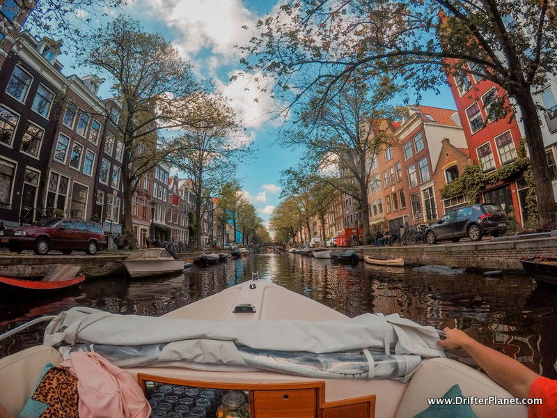 Canal Cruise in Amsterdam on a private open boat by Pure Amsterdam