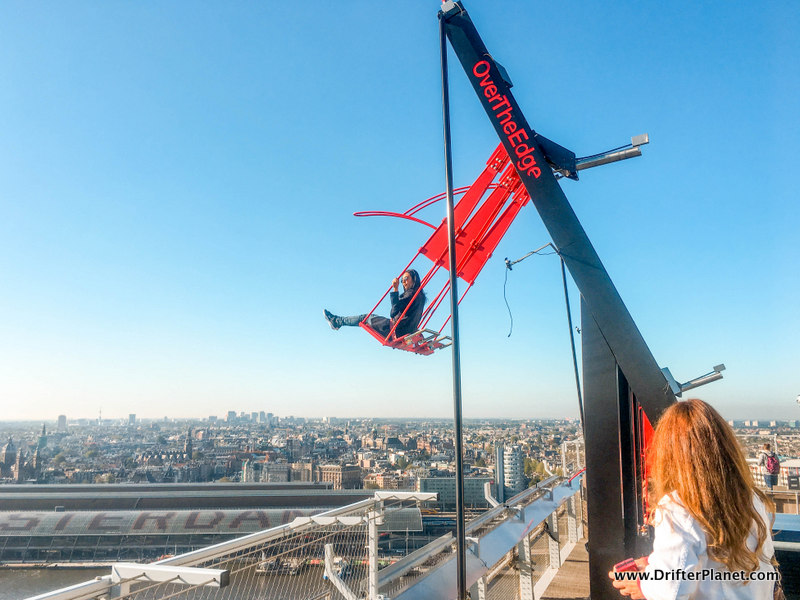 Extreme Swing on A'Dam Tower - 2 Days in Amsterdam
