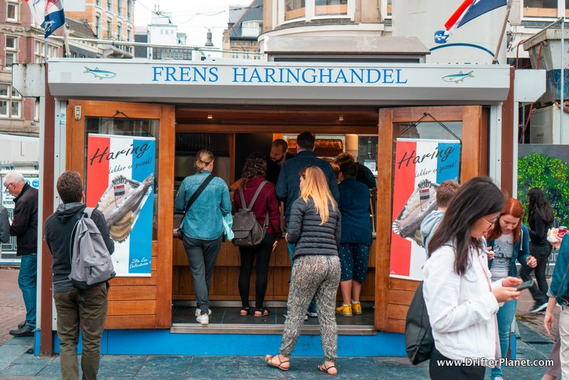 Frens Haringhandel - Eat Herring in Amsterdam