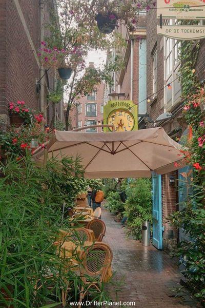 Kapitein Zeppos restaurant in Amsterdam