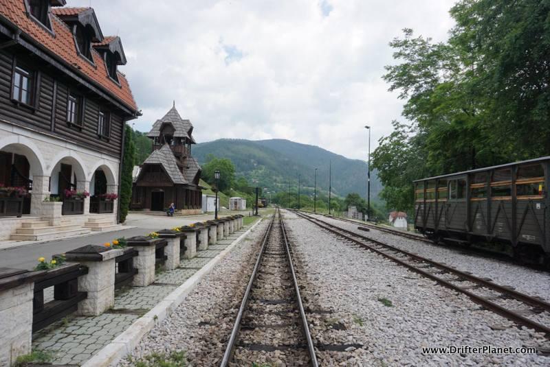 Mokra Gora train station, Serbia