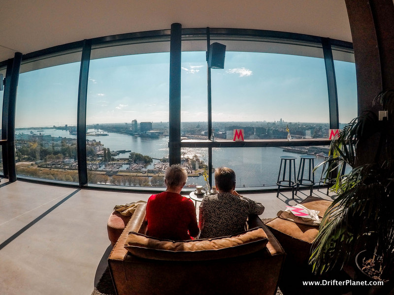 Moon Bar on A'Dam Tower - Amsterdam itinerary