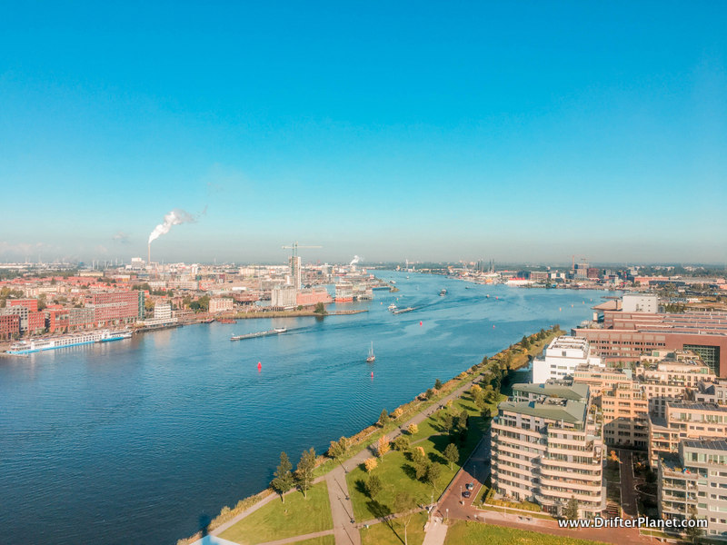 View of Amsterdam from A'Dam Tower - how to spend 2 days in Amsterdam