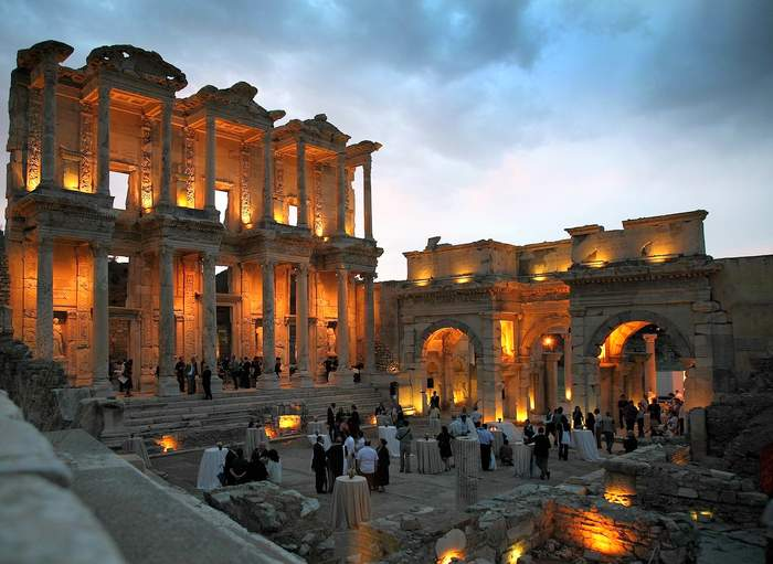Celsus Library, Ephesus - Turkey Itinerary