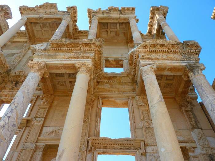 Ephesus Ruins - Celsus Library - Itinerary for Turkey