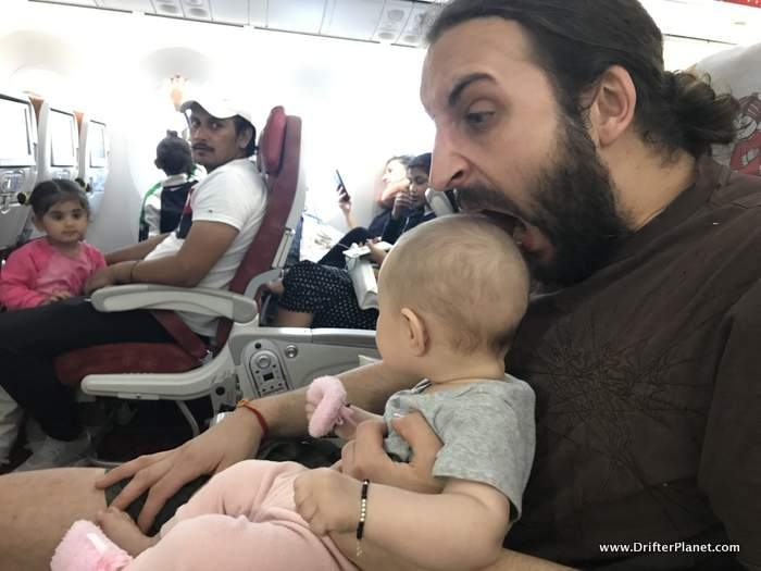 Flying with baby - tips