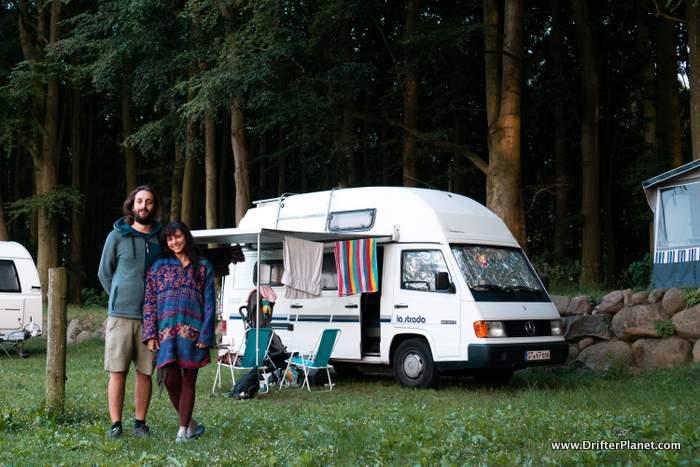 Kruger Naturecamping in Jasmund National Park