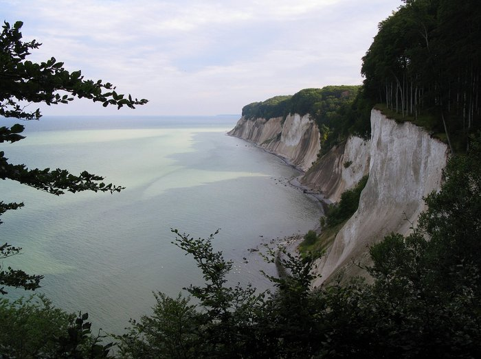 The view from Ernst-Moritz-Arndt-Sicht in Jasmund National Park