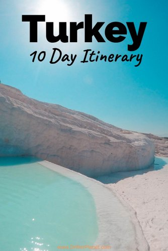 The best itinerary for Turkey