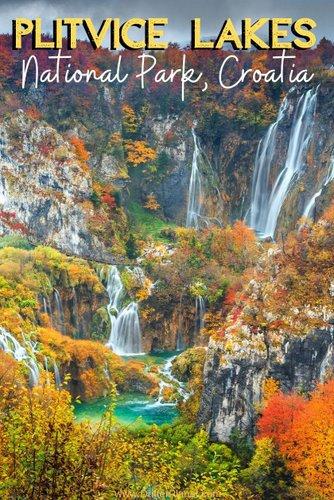 Plitvice Lakes, Croatia - stunning natural beauty