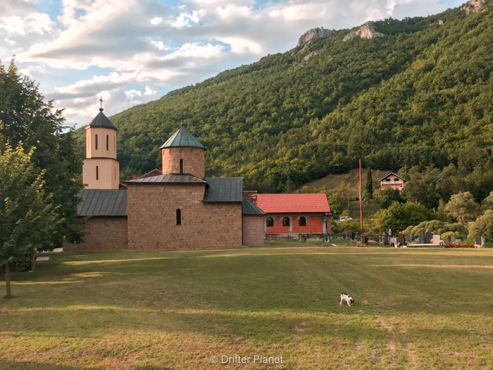 Rmanj Monastery in Una National Park, Bosnia-Herzegovina