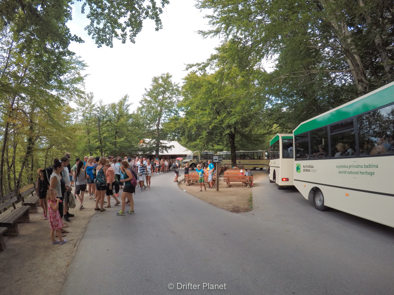 Shuttles and Buses to Plitvice Lakes, Croatia