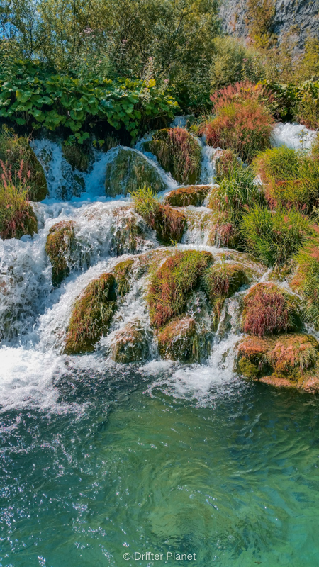 The great cascades in Plitvice Lakes, Croatia