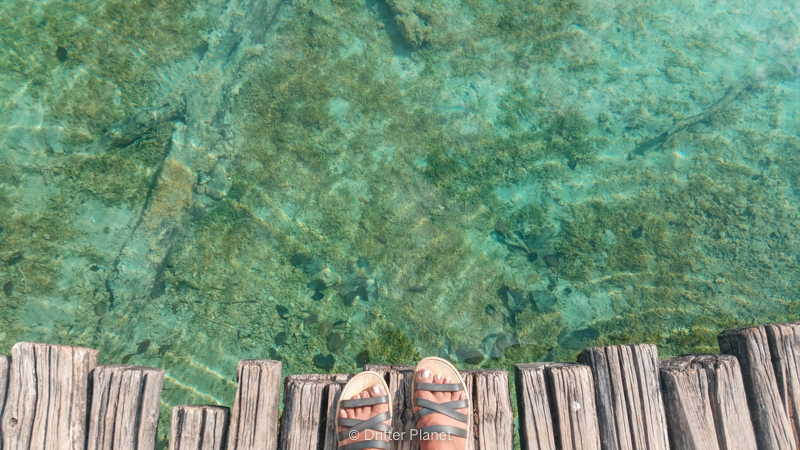 Wear comfortable shoes in Plitvice Lakes National Park