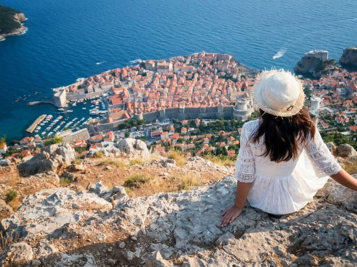 Dubrovnik viewpoint - Croatia Road Trip Itinerary