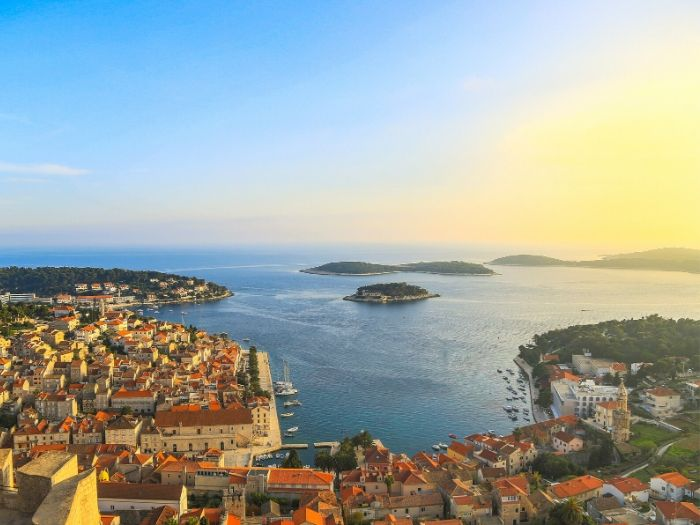 Hvar Island Sunset - Croatia Road Trip Itinerary