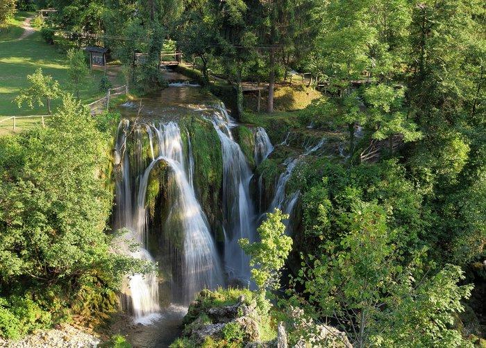 Mini Plitvice Lakes - Waterfall in Slunj, Croatia Road Trip