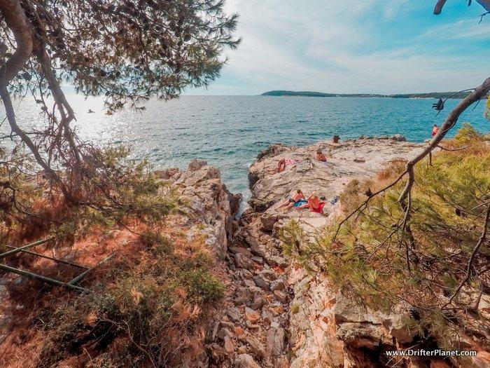 The Rocky beaches of Pula, Istria - Croatia Itinerary