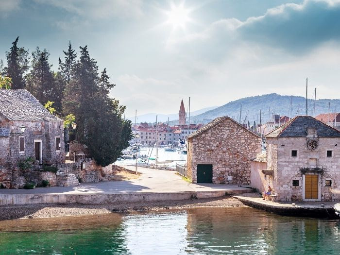 The beautiful Old Town of Hvar Island, Croatia Itinerary