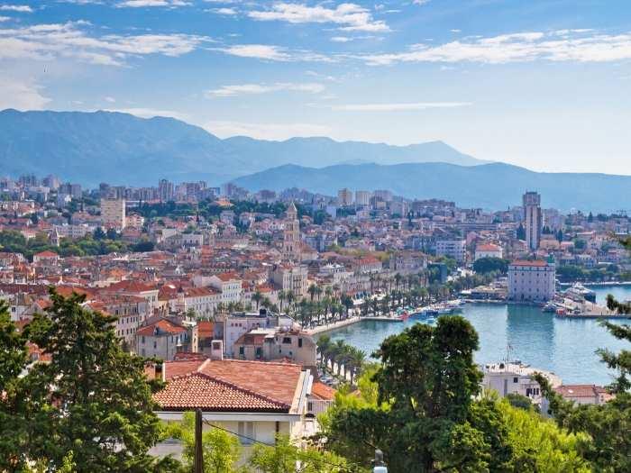 The lovely Split town - Croatia Road Trip