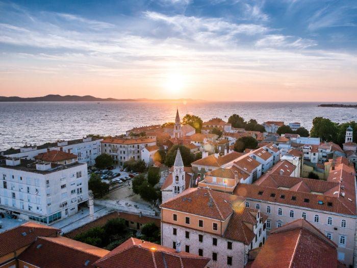 Zadar is near Krka National Park - Croatia Road Trip Itinerary