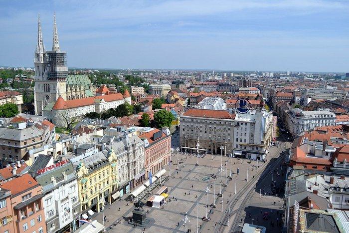 Zagreb town - Croatia Itinerary