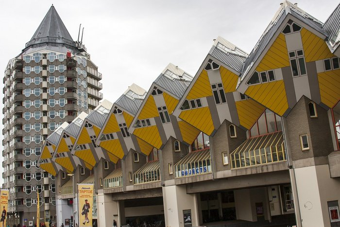 Cubic Houses in Rotterdam - Places to visit in Netherlands