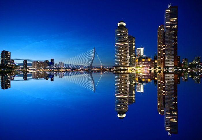 Rotterdam's Amazing Skyline - the Netherlands