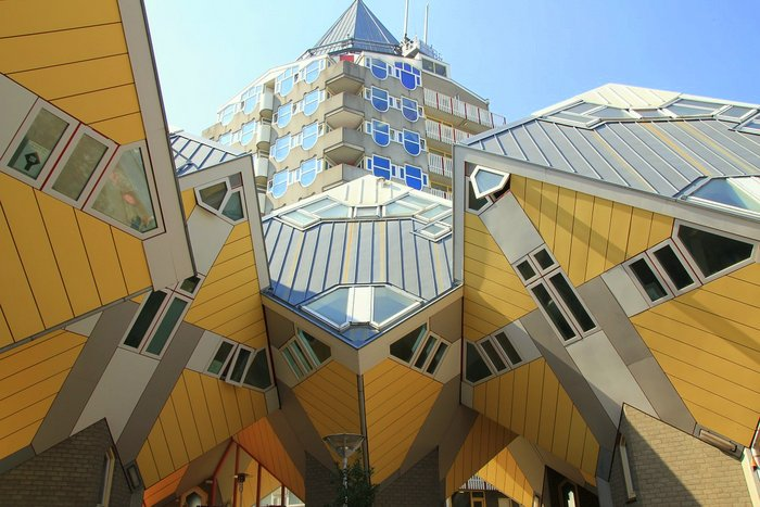 Rotterdam's cubic houses - the Netherlands