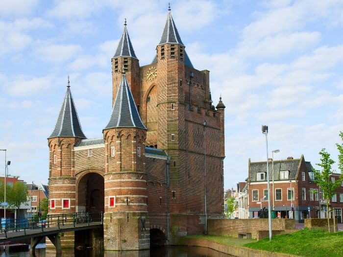 The Amsterdamse Poort in Haarlem - the Netherlands