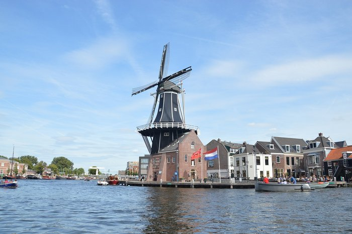 Windmill Adriaan in Haarlem, the Netherlands