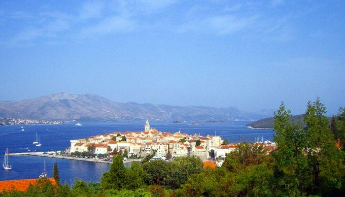 Korčula Island near Dubrovnik, Croatia