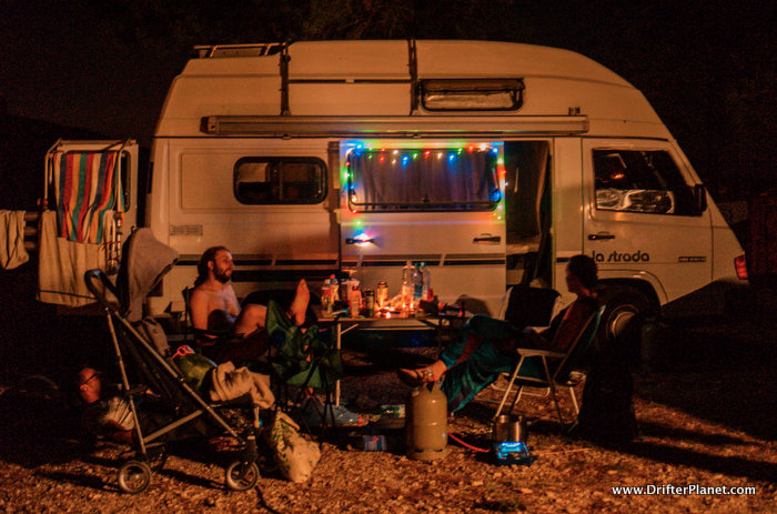 Our camping set up - campervan tips