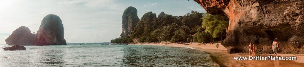 Phra Nang Beach Panorama - Krabi, Thailand